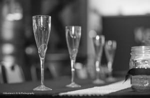 WeddingBWFlutes